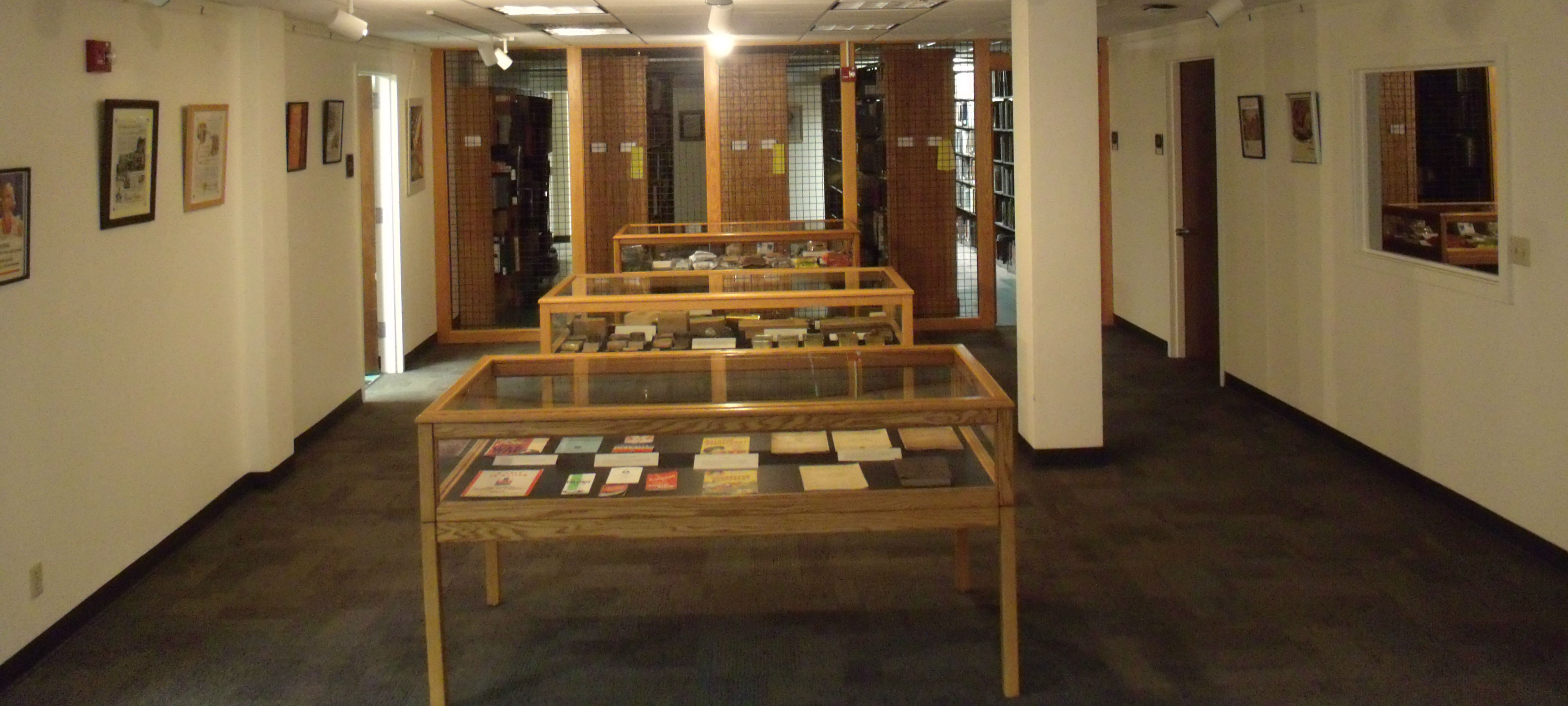 MSU Library Display