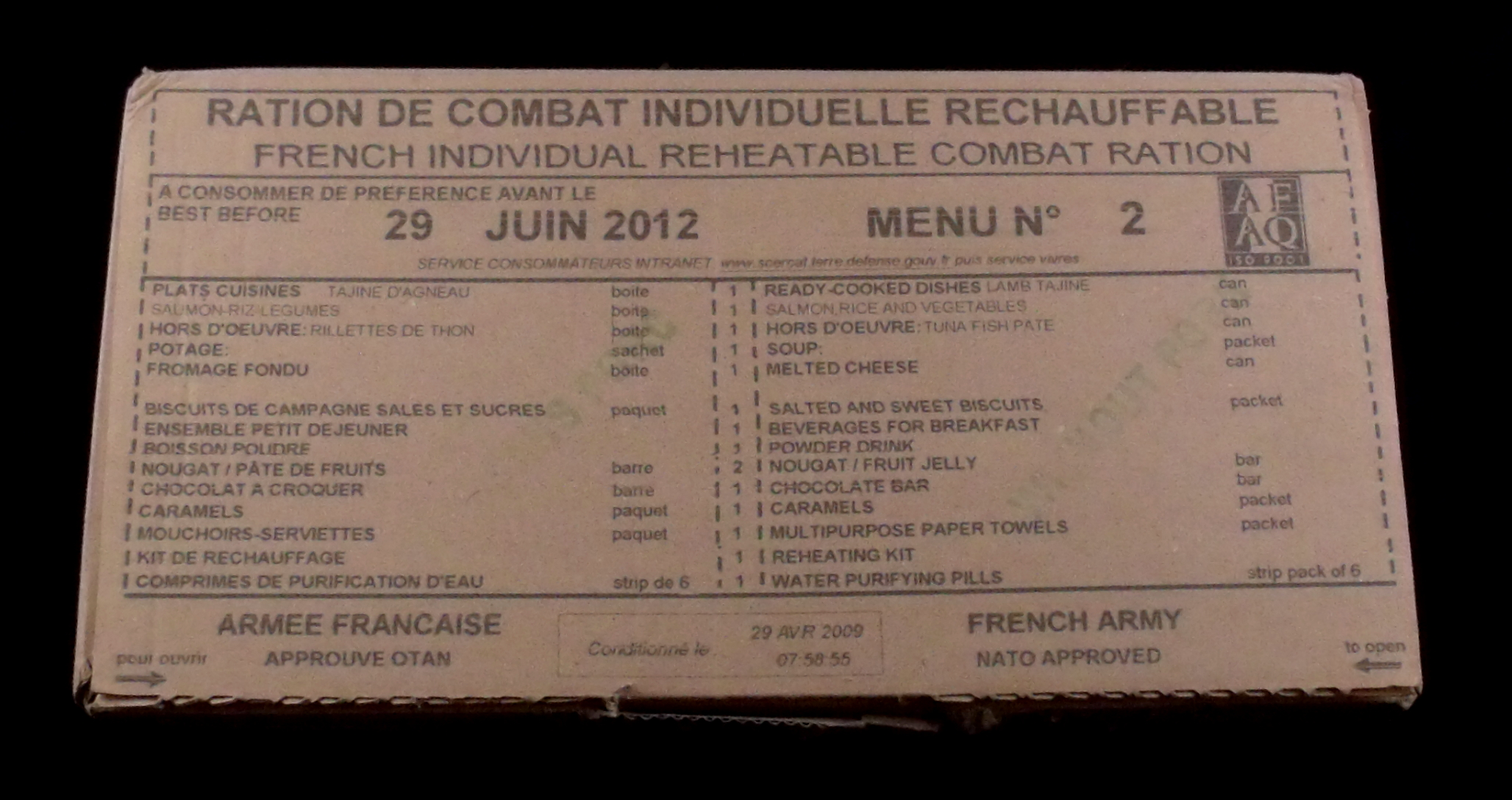 French Ration